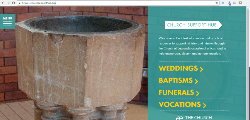 church support hub website image