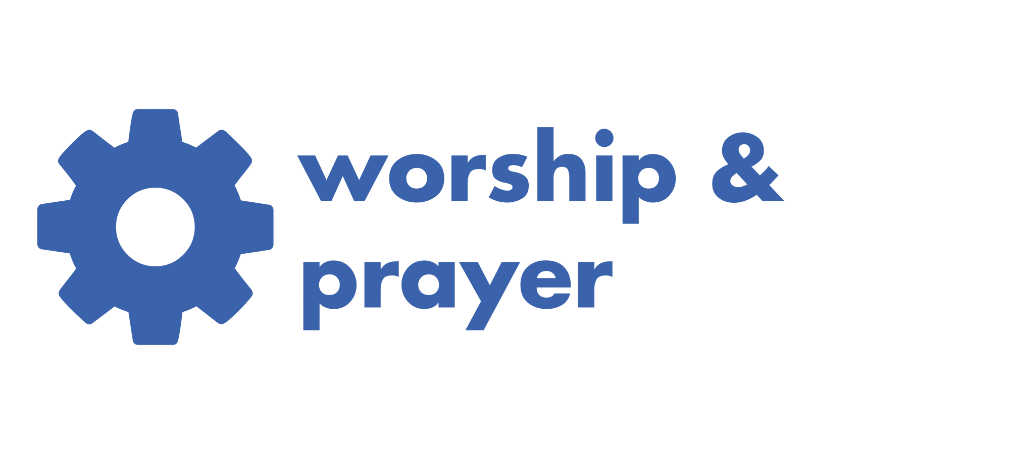 worship and prayer cog icon