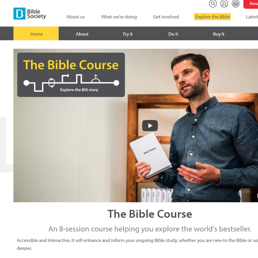 The Bible Course Updated